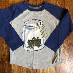 Mini Boden toad shirt